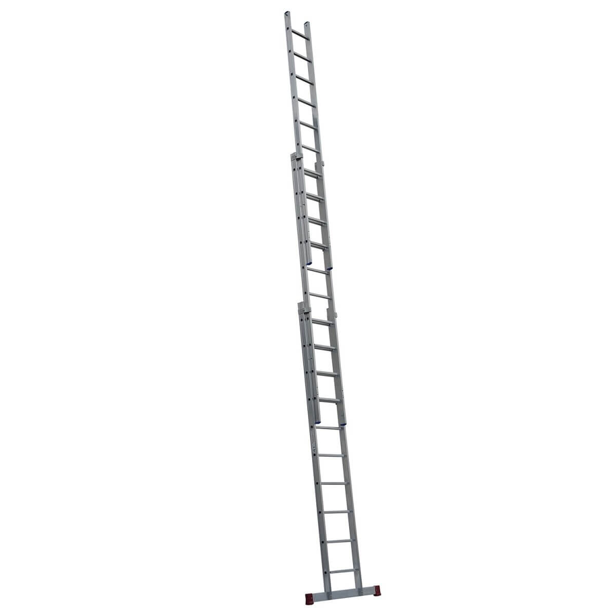 ERNST – driedelige ladder 35/41/47 cm breed, geperst