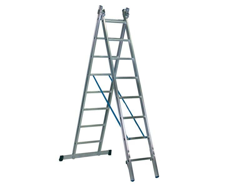 ERNST – tweedelige multifunctionele ladder 41/47 cm breed