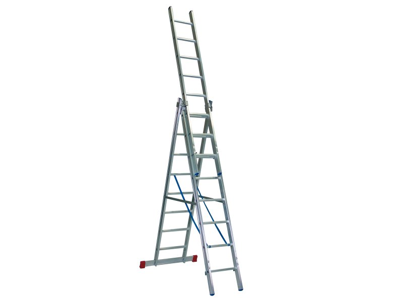 ERNST – driedelige multifunctionele ladder 41/47/53 cm breed
